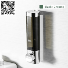 Nuevo diseño montado en la pared manual del hotel ABS plástico líquido gel de ducha dispensador automático de jabón por infrarrojos