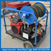 China Fabricante de Motor de Gasolina De Alta Pressão Esgoto De Limpeza De Água Jato Blaster