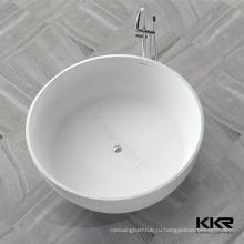 ванна цвета слоновой кости, каменная чаша ванной, каменный freestanding ванна смолаы