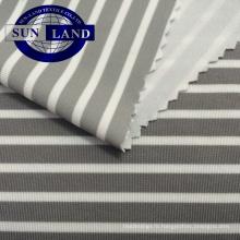 Tissu en jersey micax avec sensation de froid en polyester et spandex pour T-shirt