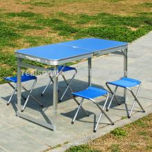Mesa plegable de estudio y silla Campana plegable Mesa portátil Mesa de estudio plegable