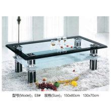 Modern Design High Gloss Glass Table for Hotel (E8)