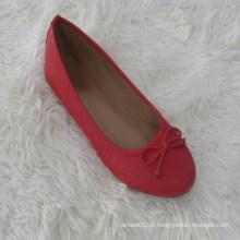 Design simples slip-on mulheres dobráveis bailarina sapato pode misturar seis cores