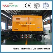 200kw / 250kVA Remolque Generador Diesel Eléctrico Generación de energía