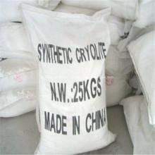 Criolita artificial da categoria industrial usada para o rebolo