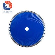 Hot-press sintered 105mm 4 inch Ultra Super Thin Turbo Diamond Disc Saw Blade for Cutting Ceramic, Tile, Granite