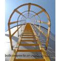 Corrimão FRP / material de construção / escada de fibra de vidro / escada de trabalho