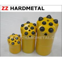 7 buttons Felsen-Ölfeld-Gewinde-Knopf-Bit