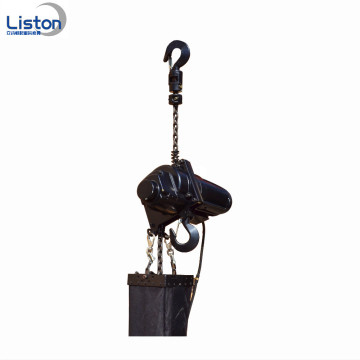 Manuell 1Ton Hand pulling stage chain heist