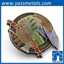 Moneda antigua de metal personalizado