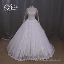 Трапеция Свадебные Платья Алансон Кружева Свадебное Платье