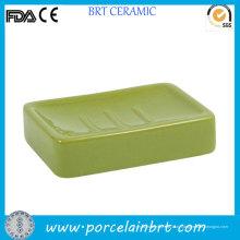 Eco-Содружественный Держатель Зеленый Прямоугольный Мыло