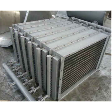 Bimetal finned tube air cooler.