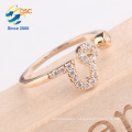 Wholesale fashionable custom silver jewelry twelve constellations Leo ring