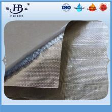 Factory direct aluminized fiberglass fabric coated aluminum foil