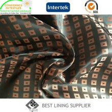 Men′s Winter Coat Satin Dobby Jacquard Lining Polyester Lining