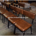 Industrial Leather Baquet Chair New Design Genuine Leather Seat