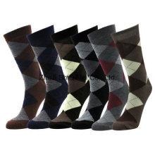 Chaussettes hommes coton diamant