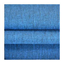 New fashion custom polyester stretch melange fabric lifestyle fabric for dresses outdoor garment curtain