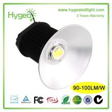 HYGEA 3 ans de garantie High Brightness led haute lumière de baie 120w puits pilote conduit haute lumière de baie