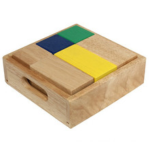 Magic Blocks Set Colorful Wooden Geometric Blocks Set