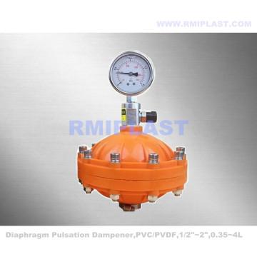 Plastic PVC PP PVDF Pulsation Damper