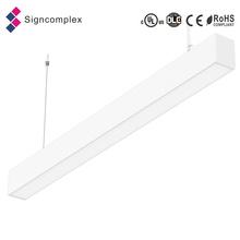 Single Run Various Installation 20W 40W 50W Linear Suspended LED Light
