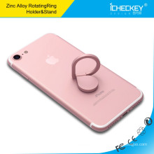 Titulaire de bague en métal 360 degrés titulaire d'anneau de téléphone portable Drop titulaire de voiture de téléphone cellulaire