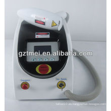 Q interruptor Nd Yag láser belleza tatuaje eliminación de la máquina