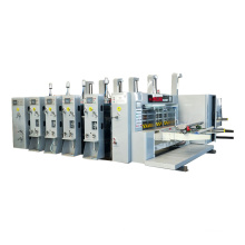 Discount price flexo printing slotting and die cutting machine