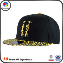 cheap blank floral print snapback cap hat arylic letters