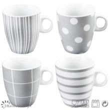 Grey Design New Bone China Mug