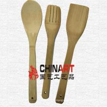 Juego de cuchara de bambú (CB03)