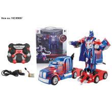 2.4G R/C Deformation Cargo Truck Toys for Kids