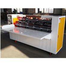 carton box thin blade slitter scorer creasing machine price  corrugated cardboard making machine
