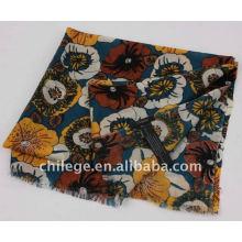 wool printed pashmina scarfs shawls