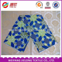fashion design with different colour dutch wax fabric