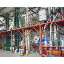 Corn Germ Separation and Flour Miling Plant