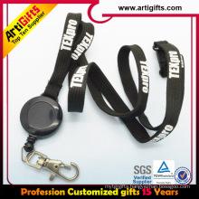 Plastic retractable yoyo holder name badge holder lanyard