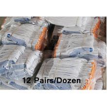 Weiße Baumwollhandschuhe zum Verkauf Handsichere Handschuhe