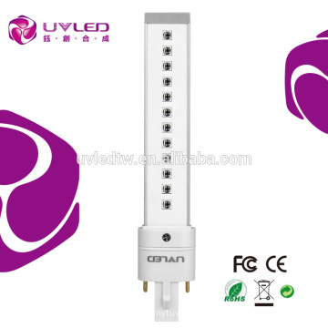 Factory Sale New 405nm 9w nail uv lamp bulb for Nail Art/Nail Curing Replacement for UV Bulb 12s Curing Time 10000h Long Life