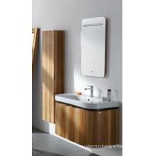 Oak Wood Bathroom Vanity Cabinet New Fashion Cabinet Design Bathroom Furniture Bathroom Cabinet (JN-8810208)