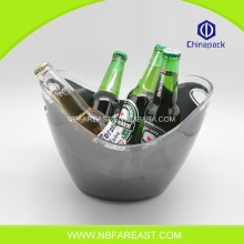 Excellent material high performance white ice bucket