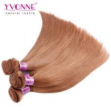 Farbe # 30 peruanische Remy Haarverlängerung