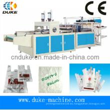 De Buena Calidad Cortar el bolso automático de la camiseta que hace la máquina (DFHQ-450X2)