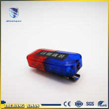 red blue strobe safety warning shoulder lamp