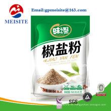 China fabricante de bolsa de plástico personalizado para acondicionamiento de polvo de condimento