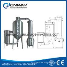 Wz High Efficient Vacuum Raising Film Single Stage Evaporator Hydro Distillation