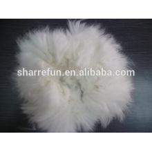 Spiky rabbit hair,dehaired angora fibre for sale