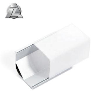 Perfil de alumínio conduzido da embalagem da tira do comprimento de 6063 t5 1m